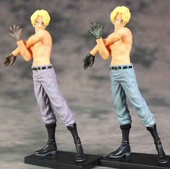 "7"" One Piece Anime Sabo Chief of Staff of the Revolutionary the Naked Ver. Boxed 17cm PVC Action Figure Model Toy"