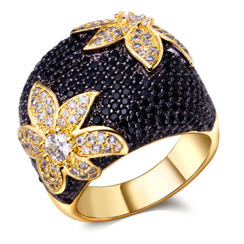 2017 boutique ring AAA Cubic Zirconia ring jewelry for women brial