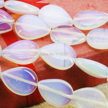 Accessories Sri Lanka Moonstone Water Tears Opal Loose DIY Beads Semi Finished Stones Balls Jewelry making Design 13x18mm 15inch