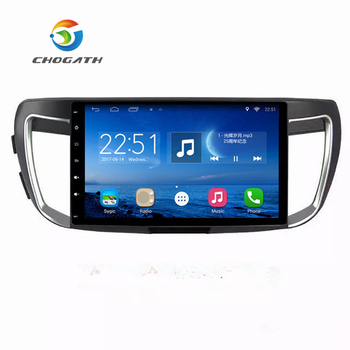 ChoGath 10.2 '' Dört Çekirdekli 1.6 GHz RAM 1G Android 6.1 Araba navigasyon GPS Video Player ile Honda Accord 9 2013-için Canbus