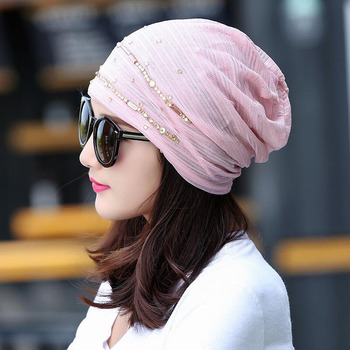 2017 New Women Fashion Hat Autumn Casual Female Caps Beanie Knit Winter Hats Girls Cap Lace Skullies Gorro Bonnet